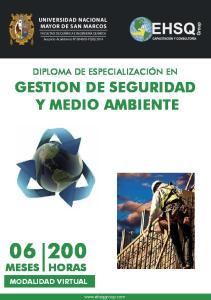 GESTION DE SEGURIDAD Y MEDIO AMBIENTE