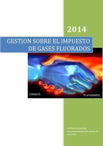 GESTION SOBRE EL IMPUESTO DE GASES FLUORADOS