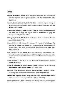 Gesundheitsberichterstattung des Bundes Heft 10. Verlag Robert Koch-Institut, Berlin 2002, 1-24