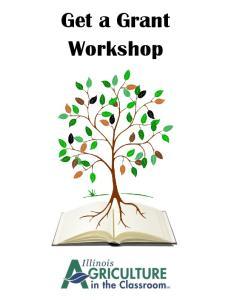 Get a Grant Workshop