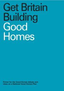 Get Britain Building Good Homes