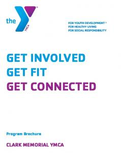 GET INVOLVED GET FIT GET CONNECTED