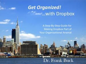 Get Organized! with Dropbox