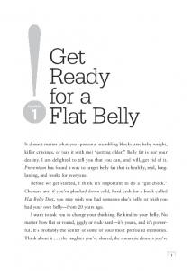 Get Ready for a Flat Belly