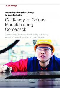 Get Ready for China s Manufacturing Comeback