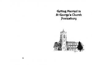 Getting Married in St George s Church Pontesbury