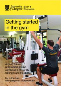 Getting started in the gym