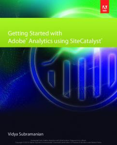 Getting Started with Adobe Analytics using SiteCatalyst