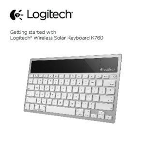 Getting started with Logitech Wireless Solar Keyboard K760