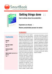 Getting things done : :