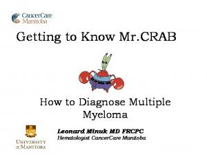 Getting to Know Mr.CRAB
