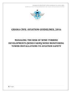GHANA CIVIL AVIATION GUIDELINES, 2016