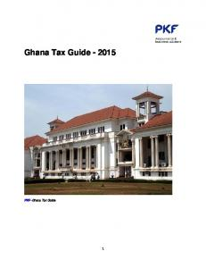 Ghana Tax Guide
