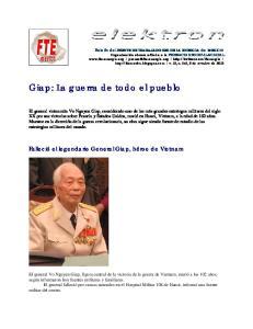 Giap: La guerra de todo el pueblo