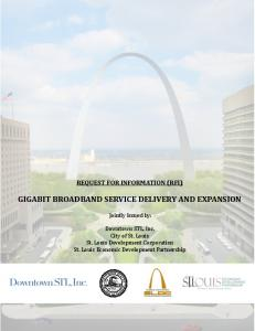 GIGABIT BROADBAND SERVICE DELIVERY AND EXPANSION