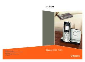 Gigaset. Gigaset S680 - S685