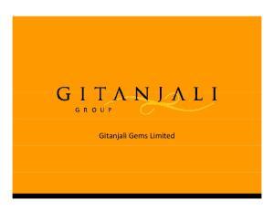 Gitanjali Gems Limited