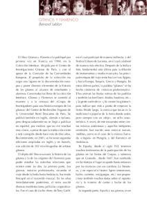 GITANOS Y FLAMENCO Bernard Leblon
