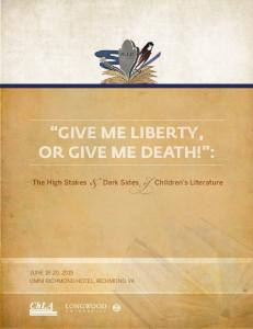 GIVE ME LIBERTY, OR GIVE ME DEATH! :