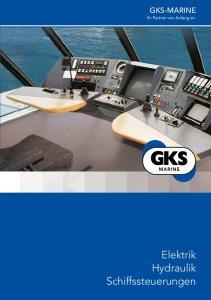 GKS-MARINE. Elektrik Hydraulik Schiffssteuerungen