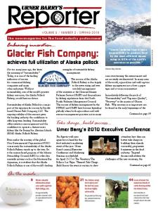 Glacier Fish Company: achieves full utilization of Alaska pollock