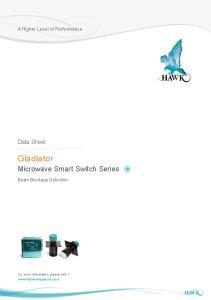 Gladiator Microwave Smart Switch Series
