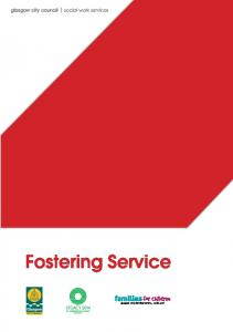 glasgow city council social work services Fostering Service