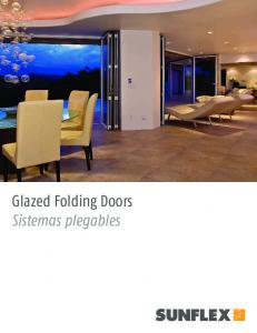 Glazed Folding Doors Sistemas plegables