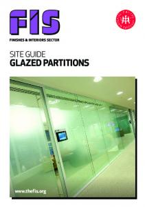 GLAZED PARTITIONS