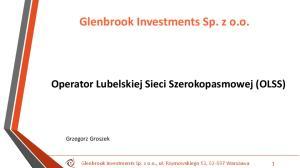 Glenbrook Investments Sp. z o.o