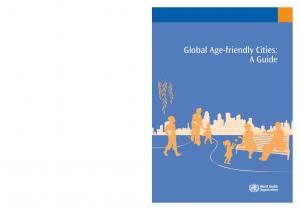 Global Age-friendly Cities: A Guide