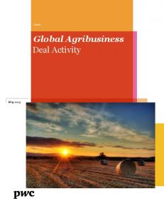 Global Agribusiness Deal Activity