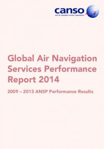Global Air Navigation Services Performance Report ANSP Performance Results