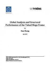 Global Analysis and Structural Performance of the Tubed Mega Frame