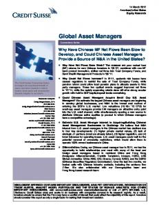 Global Asset Managers
