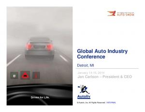 Global Auto Industry Conference