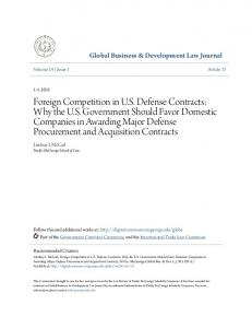 Global Business & Development Law Journal