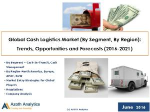 Global Cash Logistics Market (By Segment, By Region): Trends, Opportunities and Forecasts ( )