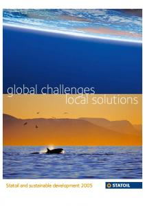 global challenges local solutions