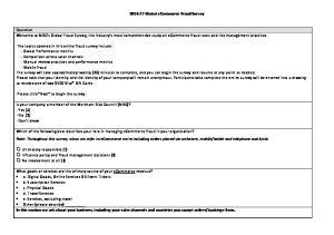 Global ecommerce Fraud Survey