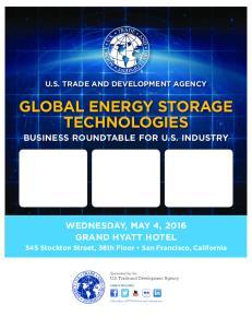 GLOBAL ENERGY STORAGE TECHNOLOGIES