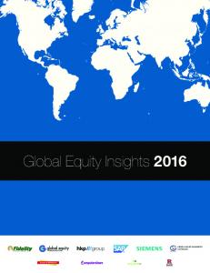 Global Equity Insights 2016