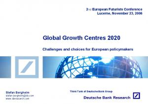 Global Growth Centres 2020