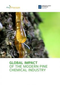 GLOBAL IMPACT OF THE MODERN PINE CHEMICAL INDUSTRY