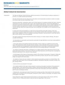 Global Industrial Automation