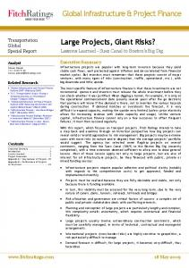 Global Infrastructure & Project Finance