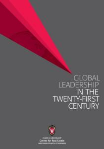 Global Leadership. Century