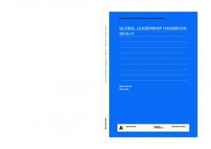 GLOBAL LEADERSHIP HANDBOOK