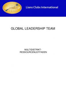 GLOBAL LEADERSHIP TEAM