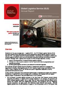 Global Logistics Service (GLS) Annual Report